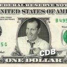 AL BUNDY on a REAL Dollar Bill Cash Money Collectible Memorabilia Celebrity Bank