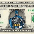 BATMAN on REAL Dollar Bill Cash Money DC Comic Collectible Memorabilia Celebrity