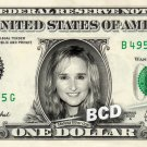 MELISSA ETHERIDGE on REAL Dollar Bill Cash Money Bank Note Currency Dinero