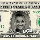 LAURIE HERNANDEZ Rio olympics Gold Medal REAL Dollar Bill Cash Money Collectible