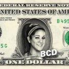 Bayley WWE on REAL Dollar Bill Cash Money Collectible Memorabilia Celebrity Bank