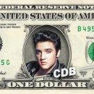 ELVIS PRESLEY on a REAL Dollar Bill Cash Money Collectible Celebrity Memorabilia