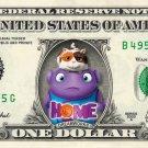 DREAMWORKS HOME on REAL Dollar Bill Cash Money Collectible Memorabilia Celebrity