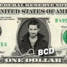 KILLIAN JONES Captain Hook REAL Dollar Bill Once Upon a Time Cash Money Banknote