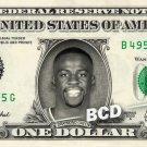 DRAYMOND GREEN Golden State Warriors NBA on REAL Dollar Cash Money Memorabilia