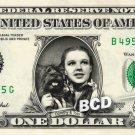 DOROTHY & TOTO Real Dollar Bill Wizard of Oz Cash Money Collectible Memorabilia