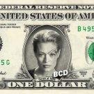 Seven of Nine REAL Dollar Bill Star Trek Voyager Cash Money Collectible Banknote