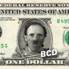 HANNIBAL LECTER on a REAL Dollar Bill Cash Money Collectible Memorabilia Celebrity Novelty Bank