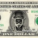 THE RIDDLER on a REAL Dollar Bill Memorabilia Celebrity Novelty Cash Money Collectible