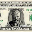SCARECROW Dark Knight on a REAL Dollar Bill Cash Money Collectible Memorabilia Celebrity Novelty