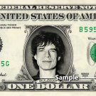 MICK JAGGER on a REAL Dollar Bill Rolling Stones Cash Money Collectible Memorabilia Celebrity