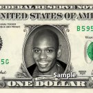 DAVE CHAPPELLE on a REAL Dollar Bill Cash Money Collectible Memorabilia Celebrity Novelty