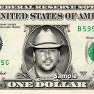 JASON ALDEAN on a REAL Dollar Bill Cash Money Collectible Memorabilia Celebrity Novelty