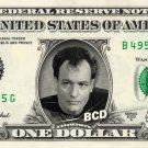 Q on a REAL Dollar Bill Star Trek TNG Cash Money Collectible Memorabilia
