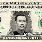 DATA on a REAL Dollar Bill Star Trek TNG Cash Money Collectible Memorabilia