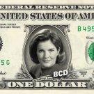 KATHRYN JANEWAY on a REAL Dollar Bill Star Trek Voyager Cash Money Collectible Memorabilia