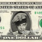 BARNEY FIFE on a REAL Dollar Bill Andy Griffith Show Cash Money Collectible Memorabilia