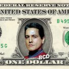 CHAKOTAY on a REAL Dollar Bill Star Trek Voyager Cash Money Collectible Memorabilia