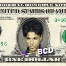 PRINCE on a REAL Dollar Bill Cash Money Collectible Memorabilia Celebrity Novelty