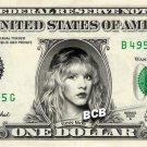 STEVIE NICKS - Real Dollar Bill Cash Money Collectible Memorabilia Celebrity Novelty