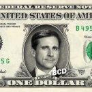 STEVE CARELL - Real Dollar Bill Cash Money Collectible Memorabilia Celebrity Novelty