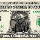 YODA - Real Dollar Bill Star Wars Disney Cash Money Collectible Memorabilia Celebrity