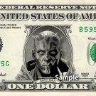 DARTH MAUL - Real Dollar Bill Star Wars Disney Cash Money Collectible Memorabilia