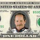 DALE EARNHARDT on a REAL Dollar Bill Cash Money Collectible Memorabilia Celebrity Novelty