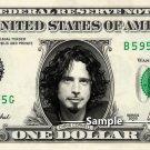 CHRIS CORNELL Soundgarden - Real Dollar Bill Cash Money Collectible Memorabilia