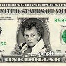 EVEL KNIEVEL - Real Dollar Bill Cash Money Collectible Memorabilia Celebrity Novelty