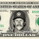 ROBIN YOUNT Milwaukee Brewers - Real Dollar Bill Cash Money Collectible Memorabilia
