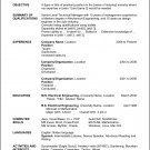 RESUME TEMPLATE for Microsoft Word - Computer File ONLY