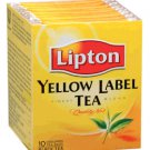 Lipton Black Tea Yellow Label 10 teabags