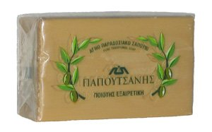 Traditional OLIVE OIL SOAP PAPOUTSANIS 125 GR