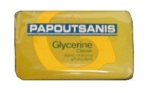 Greek soap-Papoutsanis Glycerine-Yellow-125gr