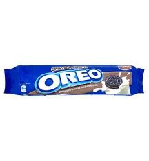 OREO chocolate flavoured sandwich biscuits 154gr