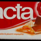 Lacta Milk Chocolate with caramel cream and liquid caramel