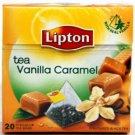 LIPTON tea Vanilla Caramel 20pcs 34g