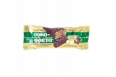 ION Greek Traditional Chocofreta with Hazelnuts - 3Bars 38gr