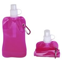 Pink Foldable Water Bottle 0,5 L