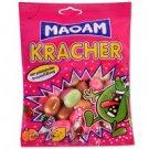 Tsichlokarameles Haribo Maoam Kracher in various fruit flavors