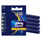 Gillette Blue II Swivel Razors - 5 Pack
