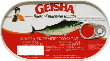 GEISHA fillets of mackerel tomato