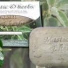 Mastic & herbs soap with mastic and sage