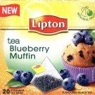 Lipton Tea 20 tea bags Blueberry Muffin