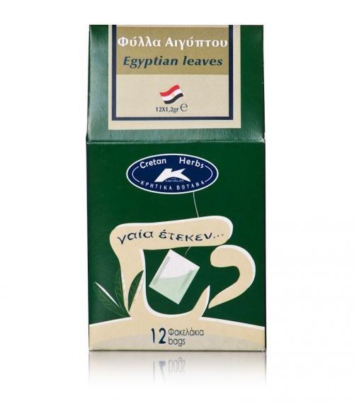 """Cretan Herbs"" Egyptian tea leaves 12 x 1.2g"