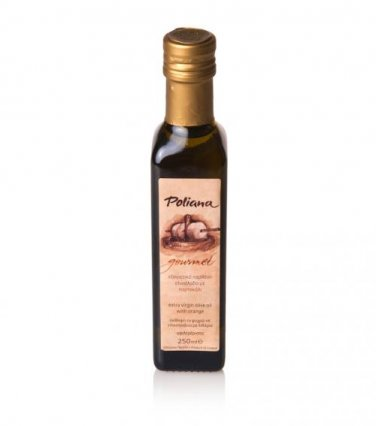 """Poliana Gourmet"" olive oil with orange 250ml"