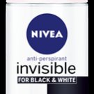 Nivea Women Invisible Black & White Clear 48Hr Anti-Perspirant Roll On 50ml