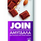 ION JOIN MILK CHOCOLATE WITH  ALMONDS 85gr