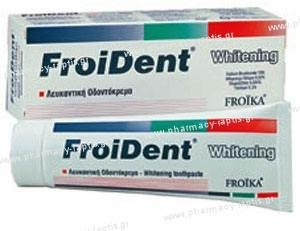 Froika FROIDENT Whitening Toothpaste, 75ml
